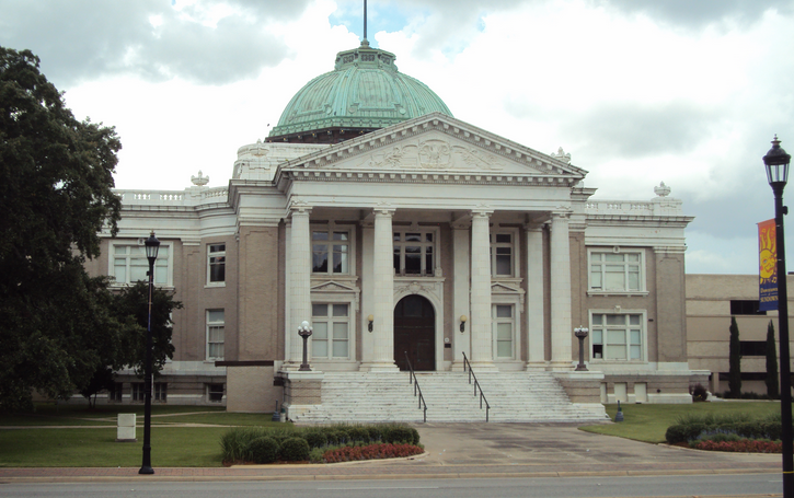 calcasieu parish courthouse in lake charles, louisiana