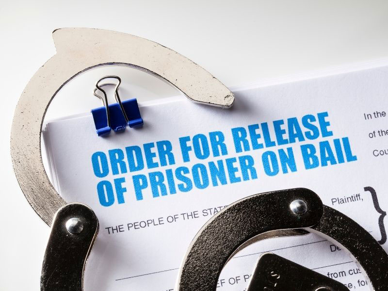 arrest process and release on bail